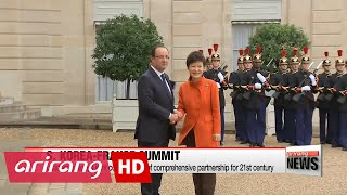 S. Korea, France to set vision for future at summit talks