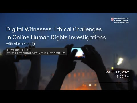Digital Witnesses: Ethical Challenges in Online Human Rights Investigations on YouTube