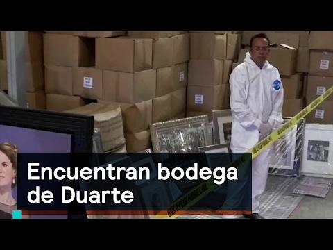 Encuentran bodega de Duarte - Corrupción - Denise Maerker 10 en punto