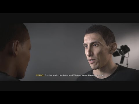 Alex Hunter MEETS Angel Di Maria,ADIDAS SPONSORSHIP || THE JOURNEY - FIFA 17 ||