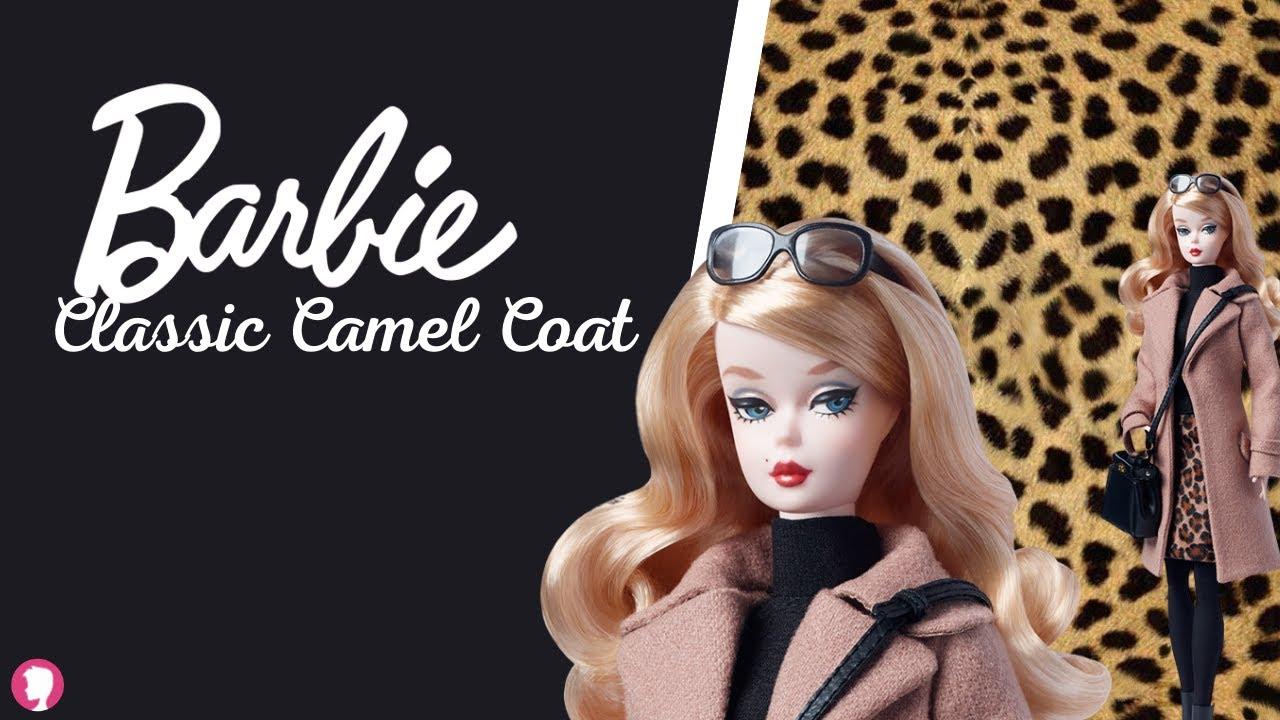 Barbie Classic Camel Coat