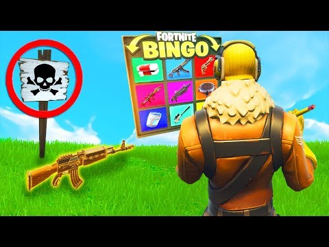 *NEU* Legendärer 1v1 BINGO modus in FORTNITE!