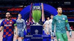 UEFA Champions League Final 2020 - Barcelona vs Bayern Munich | FIFA 20