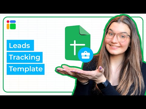 Leads Tracking Management Template in Google Sheets