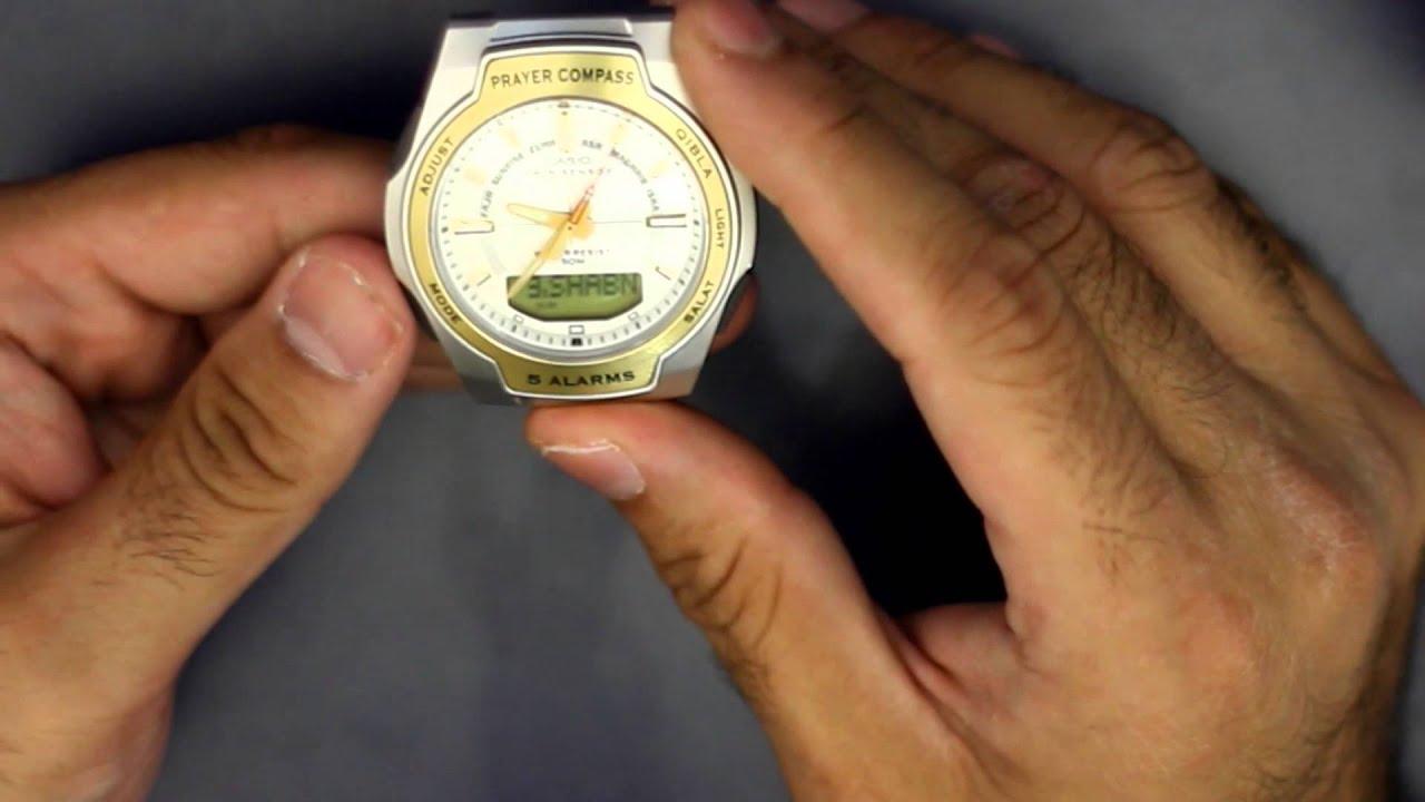 d539d845e casio prayer compass watch ساعة كاسيو تحدد اتجاه القبله ومواقيت ...