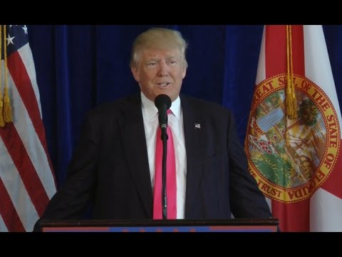 Watch: Donald Trump addresses Clinton-Kaine policies and more
