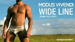 Modus Vivendi Wide Line underwear - Photography by Russell Fleming