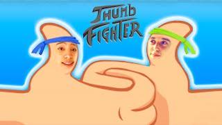 BRIGA DE YOUTUBERS  !! - THUMB FIGHTER