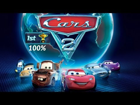 Cars 2. Full Game Walkthrough. PS3