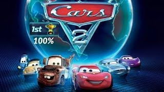 Cars 2. Full game walkthrough. PS3