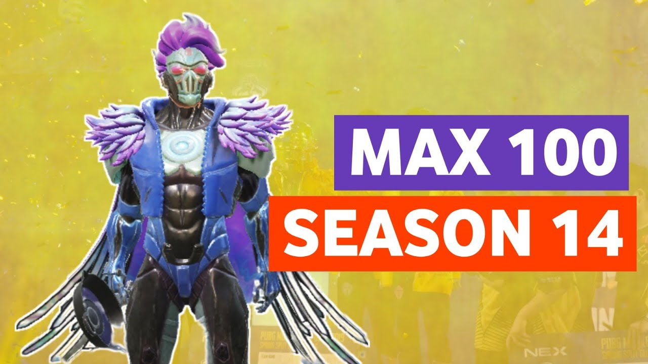 SEASON 14 100 RP FULL MAX 🔥 PUBG MOBILE