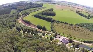 Camping Du Banel, France, filmed with DJI Phantom 2 Vision+
