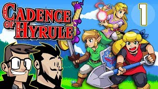 Cadence of Hyrule Lets Play: Feel The Beat - PART 1 - TenMoreMinutes