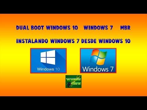 Dual Boot (Arranque Dual) - Windows 10 - Windows 7