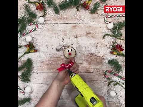 Ryobi Winter Crafts: Make Your Own Reindeer Tree Decorations