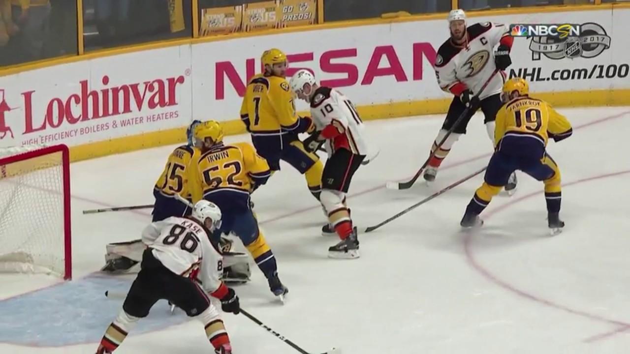 01c5b9c6728 Nashville Predators vs Anaheim Ducks : 05/22/2017 : (6-3) : Game 6 :  Western Conference Final