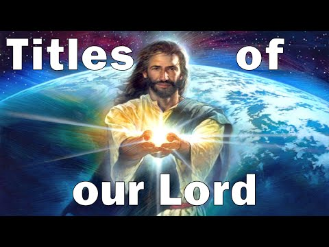 "Titles Of Our Lord - Study 3 ""Prince Of Peace"""