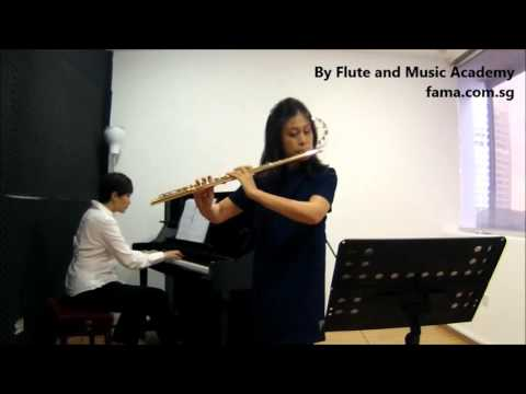 Flute ABRSM Grade 3 2014-2017, A8: Mozart's Aria from Don Giovanni for Flute and Piano