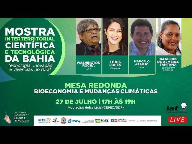Mostra Interterritorial Científica e Tecnológica da Bahia | Mesa 03