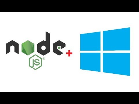 How to Install Node js and NPM on Windows 8 / Windows 10
