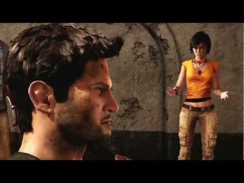 Claudia Black in Uncharted 2 2009