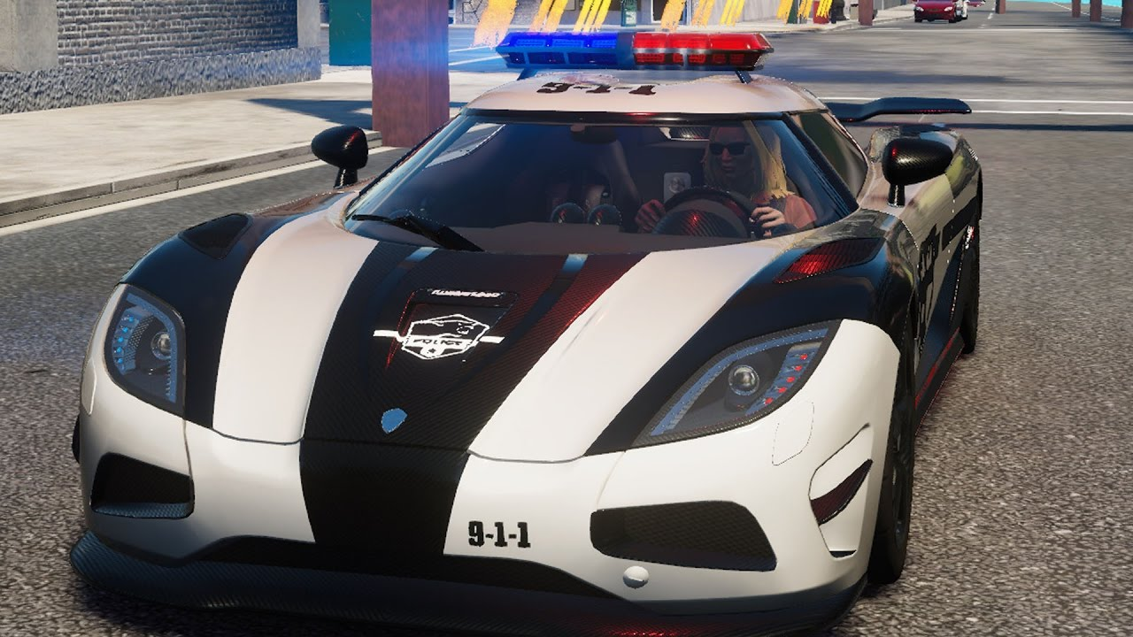 Koenigsegg Agera R Police Car The Crew Calling All Units