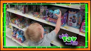 TODDLER TOY HUNT AT WALMART!! 9.8.2016   Bins Toy Bin Daily Vlogs