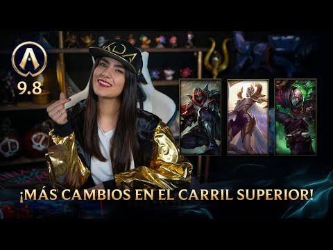 Versión 98 Actualizando: ¡Más cambios en el carril superior League of Legends