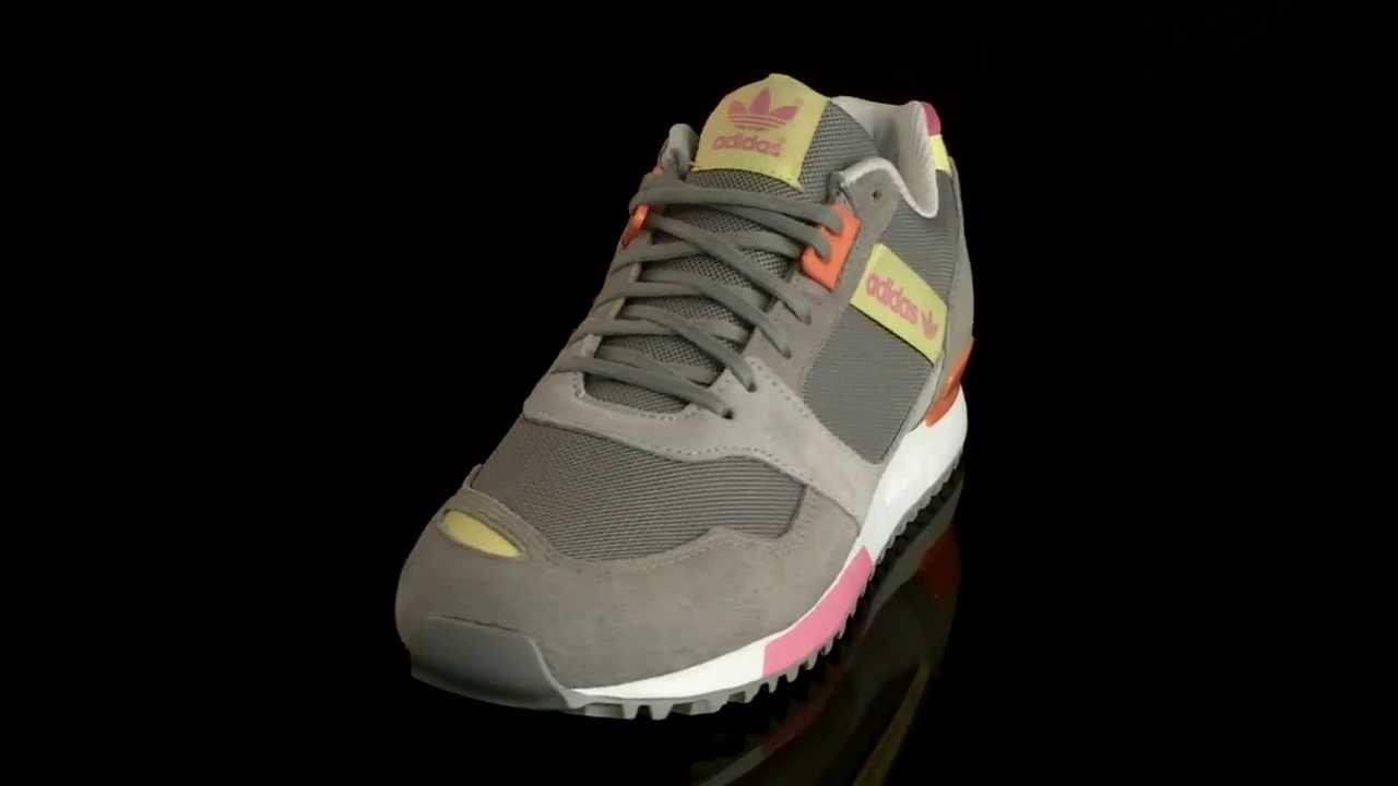 28b7d325ae01b Adidas ZX 700 Contemporary Sneaker Woman Aluminum Peach It STTRBL M22554