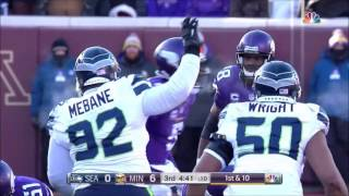 2016 Condensed AFC Wildcard Seattle Seahawks Vs Minnesota Vikings