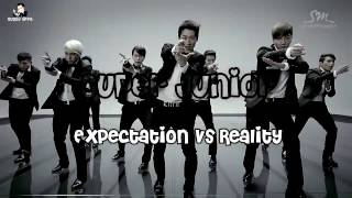 Super Junior Expectation vs Reality Part 1