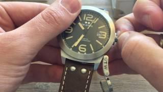 TW Steel CS32 Canteen Leather heren horloge review / Unboxing TW Steel CS32 watch
