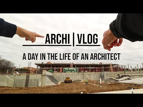 A Day In The Life Of An Architect: Architecture Vlog #1
