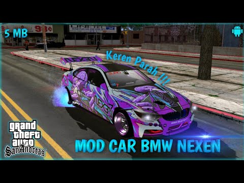 Mod Mobil Bmw Nexen Gta Sa Android Mod Mobil Keren Gta Sa Android Youtube
