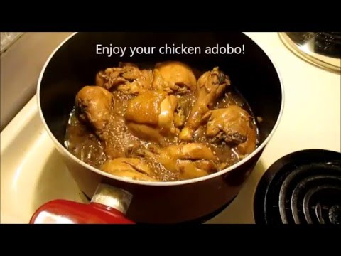 Easy Yummy Chicken Adobo for beginners