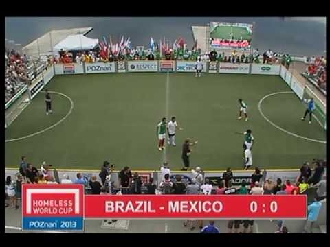 BRAZIL - MEXICO   HOMELESS WORLD CUP FINAL 2013