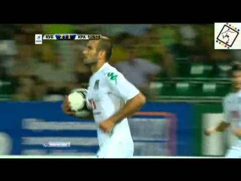 Y. Movsisyan's goal (FC Krasnodar) vs FC Kuban