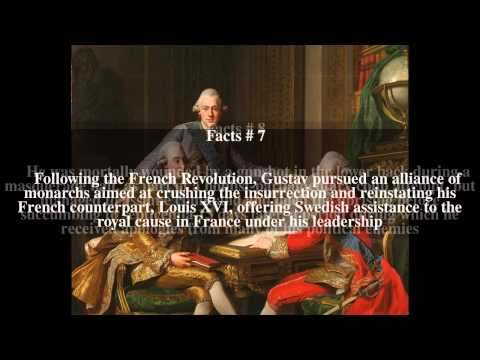 Gustav III of Sweden Top # 12 Facts