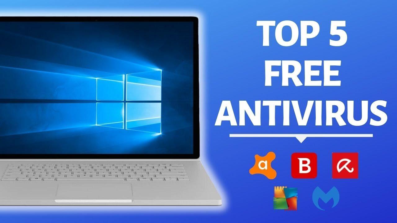 top 5 best free antivirus for pc