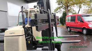 HUBTEX  4-Wegestapler 4000 kg BJ 2005