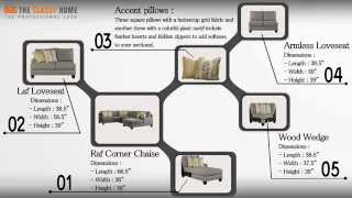 Chamberly Alloy Wood Sectional