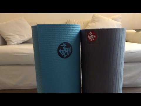 Manduka Pro vs eKo Yoga Mat Comparison