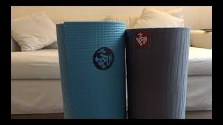 Manduka Pro vs eKo Yoga Mat Comparison