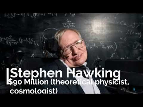 top 10 richest scientists in the world