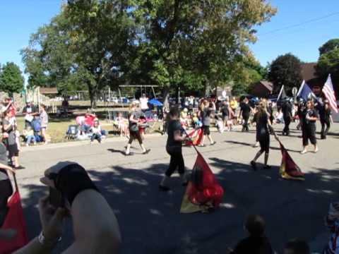 Prescott High School Colorguard Prescott Daze Parade 2012