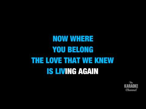 "Together Again in the Style of ""Emmylou Harris"" karaoke video with lyrics (no lead vocal)"