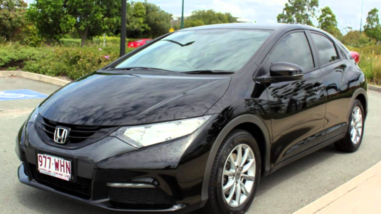 2013 honda civic 9th gen my13 vti s black 5 speed sports for Honda civic hatchback 2013