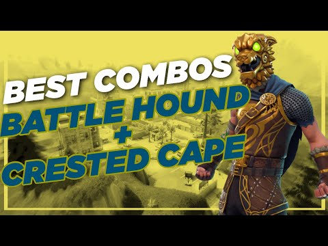 Best Chapter 2 Combos | Battle Hound + Crested Cape | Fortnite Skin Review