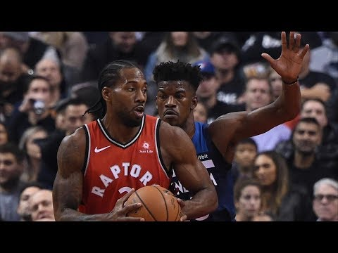 Kawhi Leonard 35 Pts! Gets Steal Without Looking! 2018-19 NBA Season