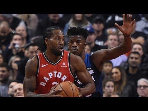 Kawhi Leonard 35 Pts! Gets Steal Without Looking! 2018-19 NBA Season